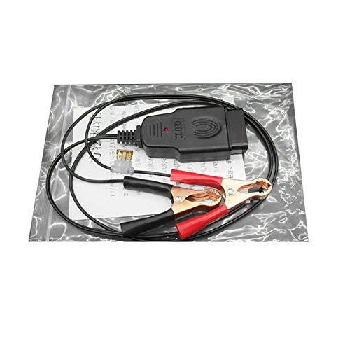 Lorenlli Batería de automóvil eléctrica Reemplazo de la Herramienta Dispositivo de Memoria de Apagado automático del Ordenador OBD Herramienta de diagnóstico y Conectores del automóvil OBD