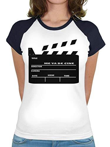 latostadora - Camiseta Cine para Mujer
