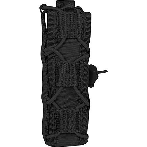 Viper TACTICAL - Portacargador de Pistola con Cordones elásticos - Negro