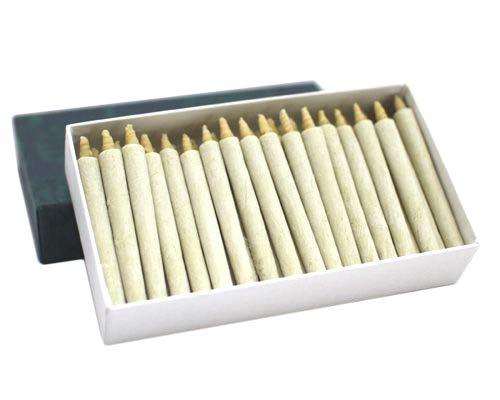和ろうそく 筒型(手作り)小丸(18分) 50本セット /ろうそく 仏壇用ろうそく 蝋燭 ロウソク 和蝋燭