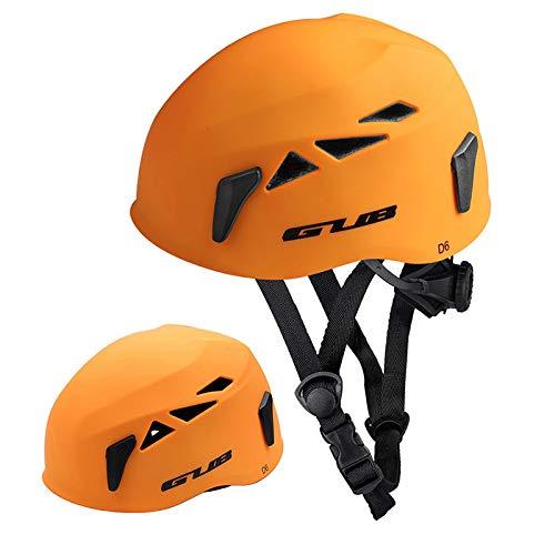 RONSHIN GUB Esterna Discesa Estensione Cave Rescue Alpinismo A Monte Casco di Sicurezza Cappello Arrampicata Arrampicata Opaco Arancione L