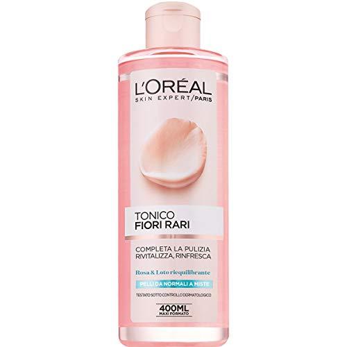 L Oréal Paris Tonico Fiori Rari, Pelli Normali e Miste,