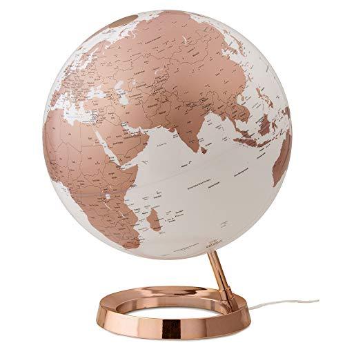 "Waypoint Geographic Light & Color Designer Series Copper Illuminated Decorative Desktop Globe, 12""..."