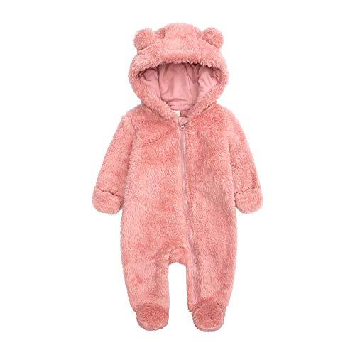 Newborn Baby Warm Snowsuit Cotton F…