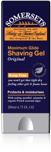 Somersets Max Glide Original Shave Gel 6.75 fl oz (200 ml) by AB