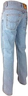 Hard Wearing Tough Mens Work Jeans Sizes 28-40, Inside Leg 27 29, 31, 33 Blue Stone wash Black Bleach Wash