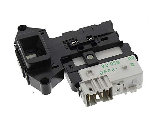 LAZER ELECTRICS DFF01851 - Interruptor de bloqueo de puerta para lavadoras LG (sustituye 6601ER1004D, EBF49827803)