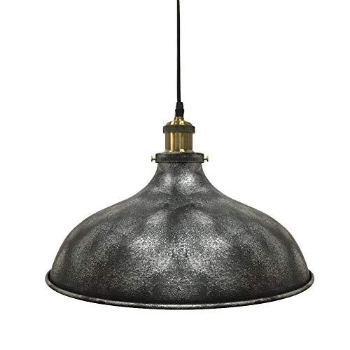Exquisita De una sola cabeza de hierro forjado Isla de la lámpara retro estilo industrial de la personalidad creativa pendiente de la luz bar café caliente Pot restaurante de la lámpara decorativa ilu