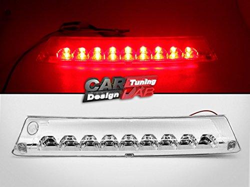 (1) objectif clair LED Rouge Troisième Arrêt Troisième feu stop lampe pour 2011 à