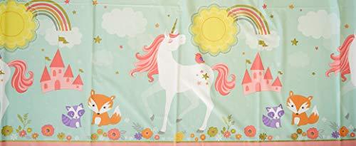 Amscan International Tafelkleed Kunststof Magische Eenhoorn