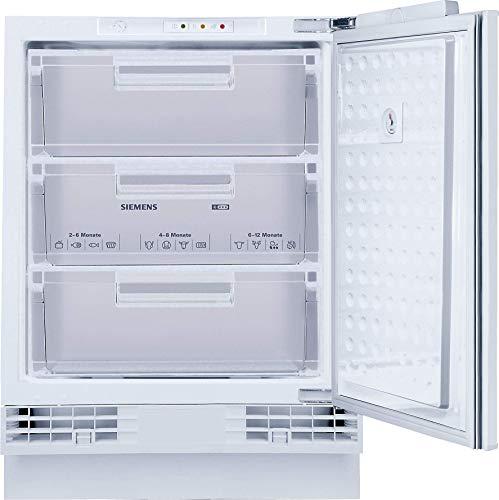 Siemens GU15DADF0 iQ500 Unterbau-Gefrierschrank / F / 224 kWh/Jahr / 106 l / superFreezing / softClosing Tür