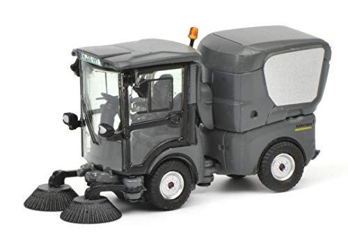Schuco 452629000 Kehrmasch Kärcher MC 130 Kehrmaschine, Modellauto, 1:87, grau, schwarz