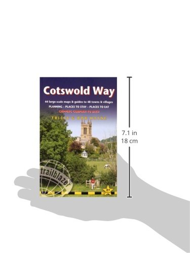 Cotswold Method: 44 Walking that is large-Scale Maps Guides to 48 Towns and Vil... - 41VHiTWtT4L