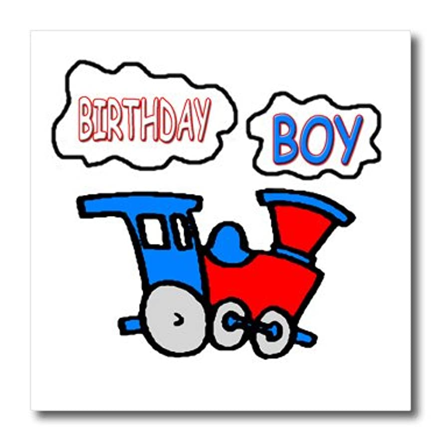 3dRose ht_1279_1 Birthday Boy-Iron on Heat Transfer Paper for White Material, 8 by 8-Inch