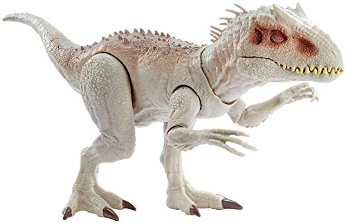 Jurassic World - Dino Rivals Indominus Rex, dinosaurio de juguete para nios +4 aos (Mattel GCT95), Embalaje estndar