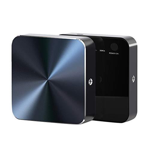 Tuneway Purificador de aire USB para refrigerador, generador de ozono, 4 engranajes, limpiador de aire ajustable, desinfección para coche/hogar/mascota/cocina