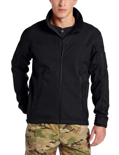 Tru-Spec JKT, 24-7 Tactical Softshell, Black, Large