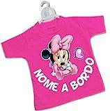 STICKEREDO Mini t-shirt magliettina bimbo bimba auto nomi bordo bebè baby on board