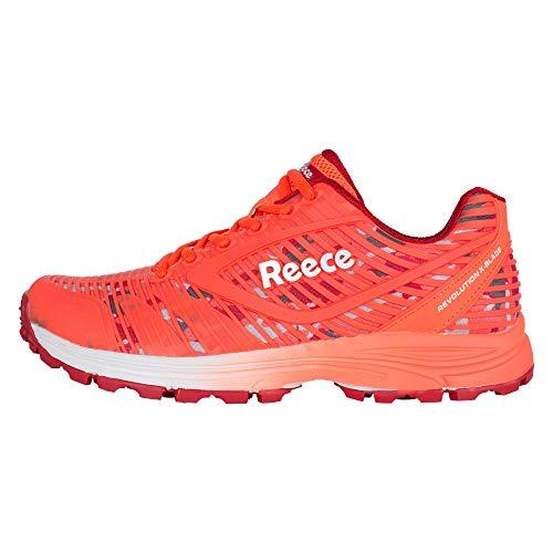 Reece Revolution X-Blade Hockey Schuhe coral-weiß Damen coral-weiß, 36 ( UK 3.5)