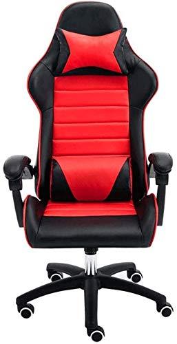 Sillas for sillas de Respaldo Alto ergonómico del Juego Que compite con la Siesta computadora de Oficina Giratorio Ajustable Altura Butaca for Video Juegos Sillón