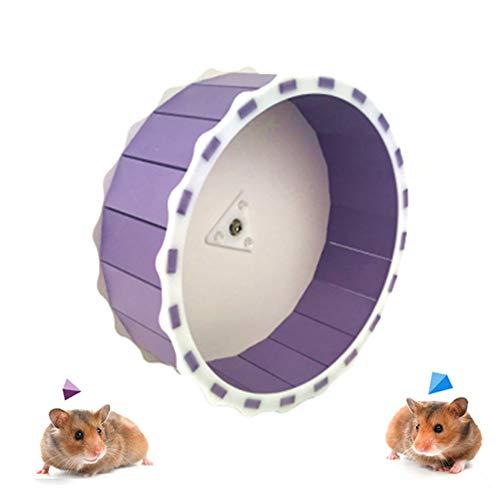 HOSui Juguetes Hamster Rueda Hamster Conejo Juguete Bola Hamster Cobayas Accesorios Juguetes Conejos para HáMsters Ardillas Chinchillas Animales PequeñOs Purple
