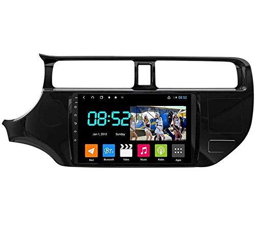 Android 8.1 Navegación GPS Autoradio 9' 1080P HD Touch Screen Estéreo TV para KIA Rio K3 2012-2014, con control en el volante Bluetooth Manos libres Llamadas Mirror Link DAB SWC, WiFi2G +32G
