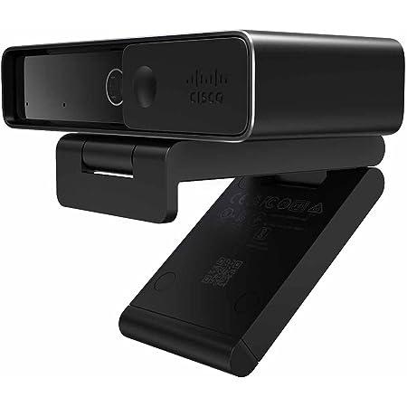 Cisco Systems ウェブカメラ Webex Desk Camera 4K UHD対応 オートフォーカス機能 自動光調整 81°広角 マイク付き ノイズキャンセリング機能 正規代理店販売品 会議利用可能