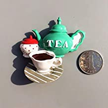 Ixora Food Theme Fridge Magnet Tea Coffee Sugar