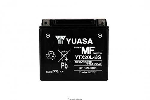 BATERA YUASA HARLEY DAVIDSON XLH 883 SPORTSTER 2000-2003 (YTX20L-BS)