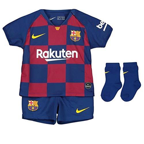 NIKE FCB I Nk BRT Kit Hm Equipamento de Fútbol, Unisex niños, Deep Royal Blue/(Varsity Maize) (Full Sponsor), 9-12M