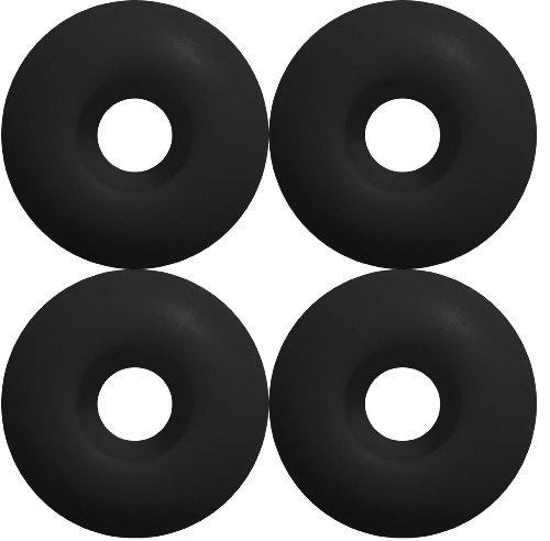 Blank Skateboard Wheels (Black, 53mm) by BLANK