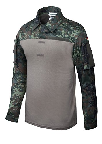 Leo Köhler Combat Shirt, Flecktarn 5-Farben-Tarn, Gr. 54/56