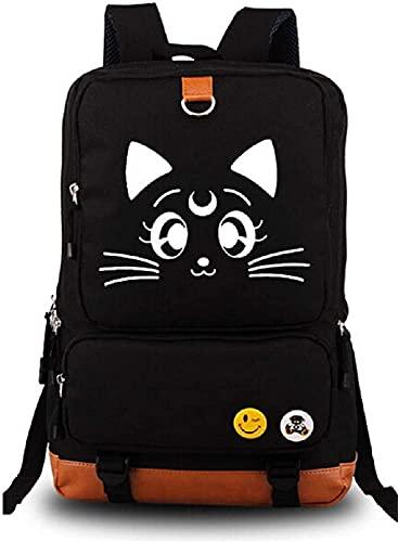 Mxcostume Anime Luna Cosplay Luminous Sailor Moon Backpack School Bag (A)