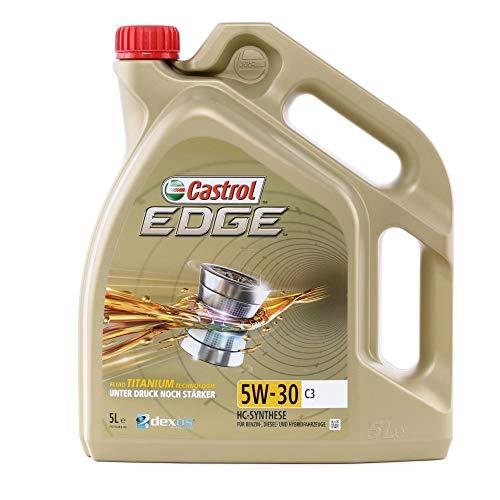 Dieselmotoren: Castrol Edge 5W-30 Motoröl für den Ölwechsel beim Toyota Yaris XP9 (Baujahre 2005 – 2011)