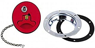 Aircraft-Style Flush-Mount Fuel Fill Filler Neck and Cap