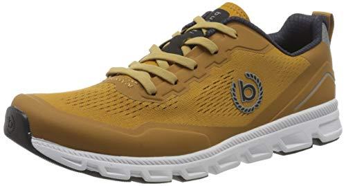 bugatti Herren 342979015900 Slipper, Yellow, 43 EU