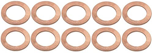 MACs Auto Parts 41-75486 Differential Carrier Copper Washer, 8' Or 9' Rear End