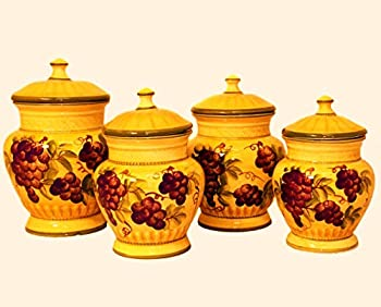 tuscany kitchen canisters