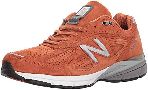 New Balance - Mens M990J Shoes, 8.5 UK - Width D, Orange/Jupiter