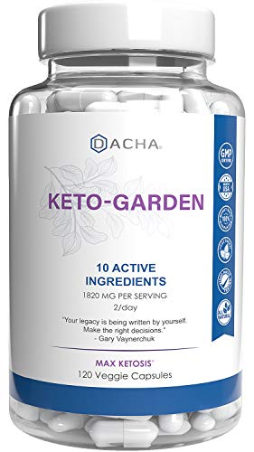 DACHA Ultra Fast Keto Boost - 1820 mg KetoGarden Pure Pills, 6X Extreme Rapid Ketosis, Manage Cravings Super Fast, Utilize Fat for Energy, Perfect Exogenous Ketones, Slim Weight Loss, Burn Xtreme