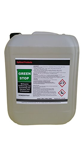Green-Stop - Nettoyant anti-moisissure pour pierre 10 Liter