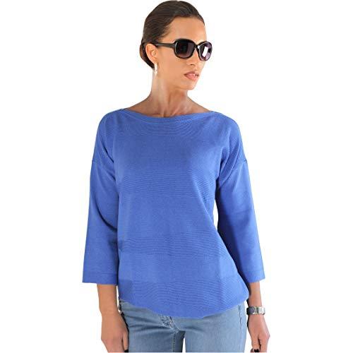 Faber Woman Pullover Melissa blau Gr. 42 - (17623 FB: 621 GR. 42)