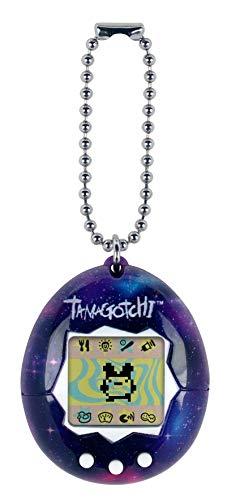 Tamagotchi Friends- Original Tamagotchi Galaxy - Alimentación, Cuidado, Nutrición - Mascota Virtual con Cadena para el Juego sobre la Marcha, Color (Bandai 42815)