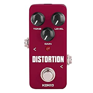 Mylujo KOKKO FDS2 Mini Distortion Pedal Tragbares Gitarren-Effektpedal