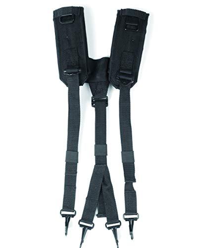 Mil-Tec Portaequipajes estadounidense LC2, color negro