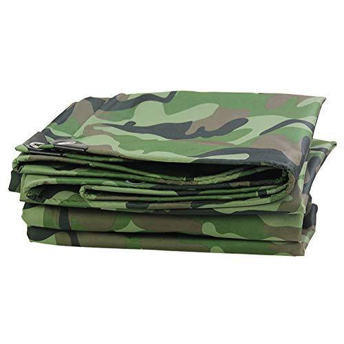Wasserdichte Plane Heavy Duty - Tarnung Tarps Sheet Covers für Camping, Angeln, Gartenarbeit, Yard Roof Pool Cover, 0,45 mm dick, 420G / M² (größe : 3M x 9M)