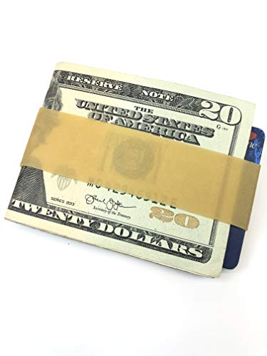 'Big Lou' The Original Rubber Band Wallet Money Clip Card Holder Money Bands (Package of 30)