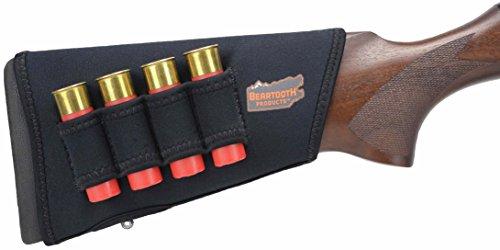 Beartooth StockGuard 2.0 - Premium Neoprene Gun Stock Cover - Shotgun Model in Black (Right-Handed)