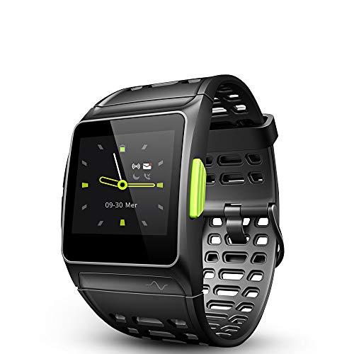 Smart Watch,Fitness Tracker GPS,Orologio Intelligente da Polso Bluetooth, Monitoraggio della Frequenza Cardiaca, Analisi HRV, Pedometro,5ATM Impermeabile,Multi modalità di sport