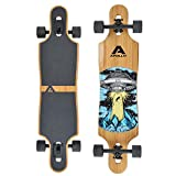 Apollo Longboard Vanua Flex III Special Edition Komplettboard mit High Speed ABEC Kugellagern inkl....